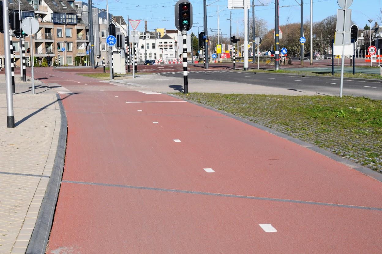 zuidwal fietspad spoorzone