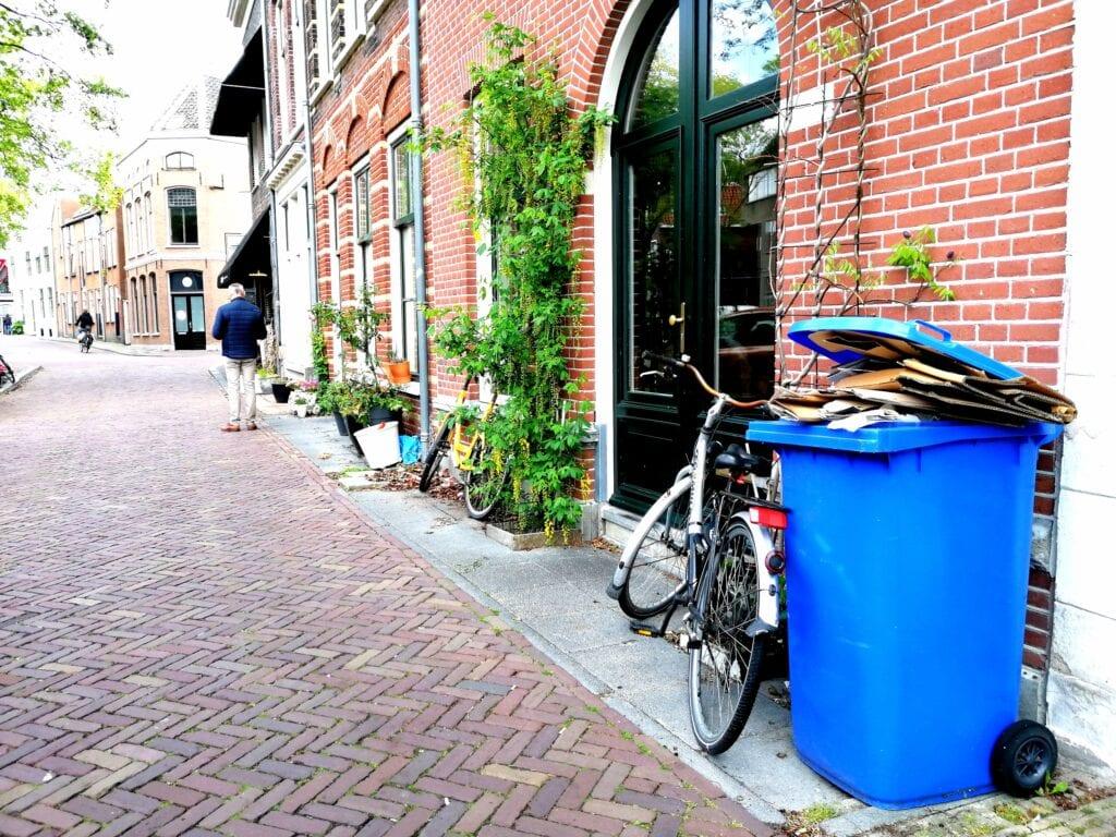 Afvalkalender container vuilnis afvalwijzer