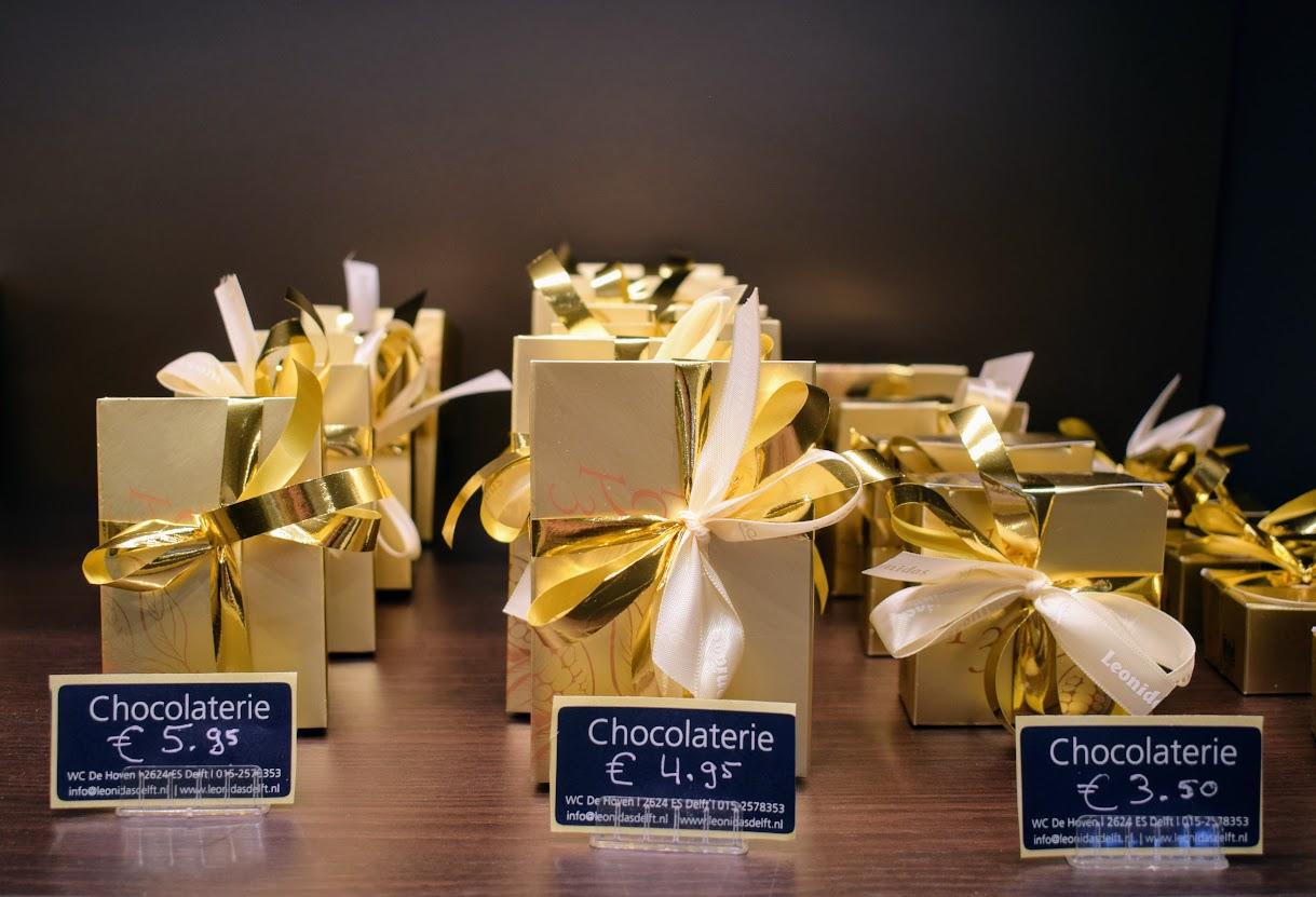 chocolaterie leonidas delft hoven