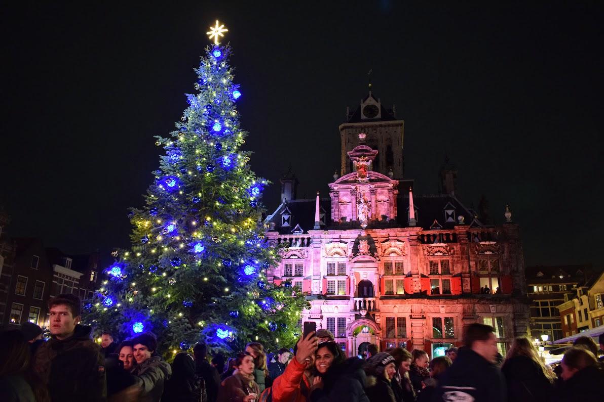 lichtjesavond kerstboom