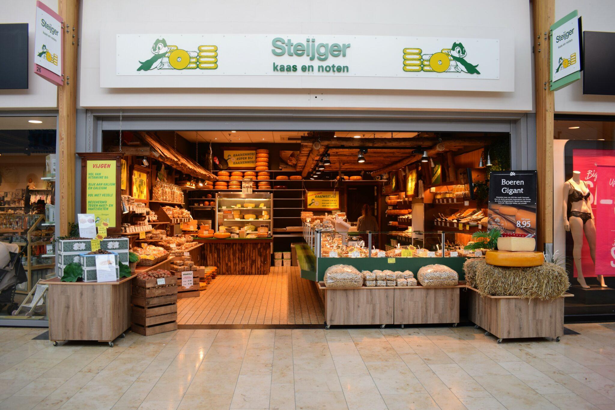 Kaas- en notenbar Steijger