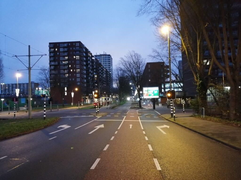 Martinus Nijhofflaan verkeerslichten