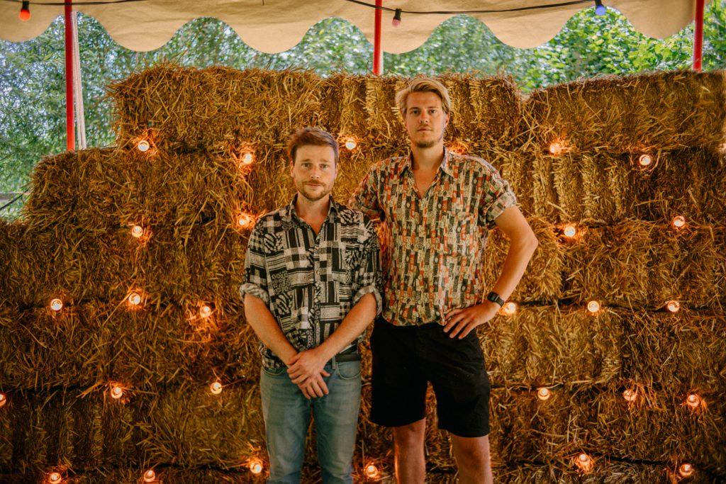 Thijs Borsboom en Jord Siemerink stichting de tent