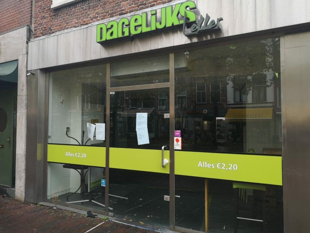 Dagelijks Lekker gesloten Brabantse Turfmarkt