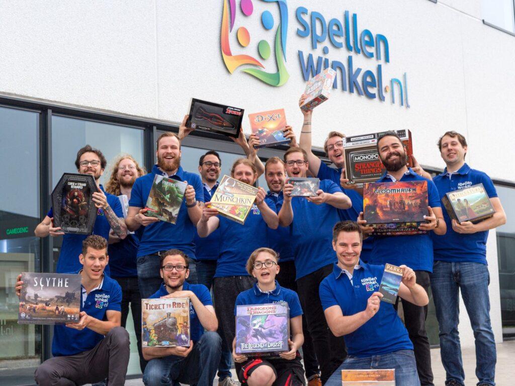 Spellenwinkel.nl teamfoto