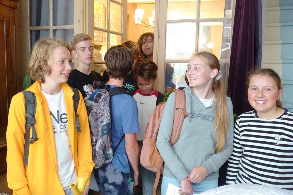 Mercurius College Delft, enthousiaste leerlingen
