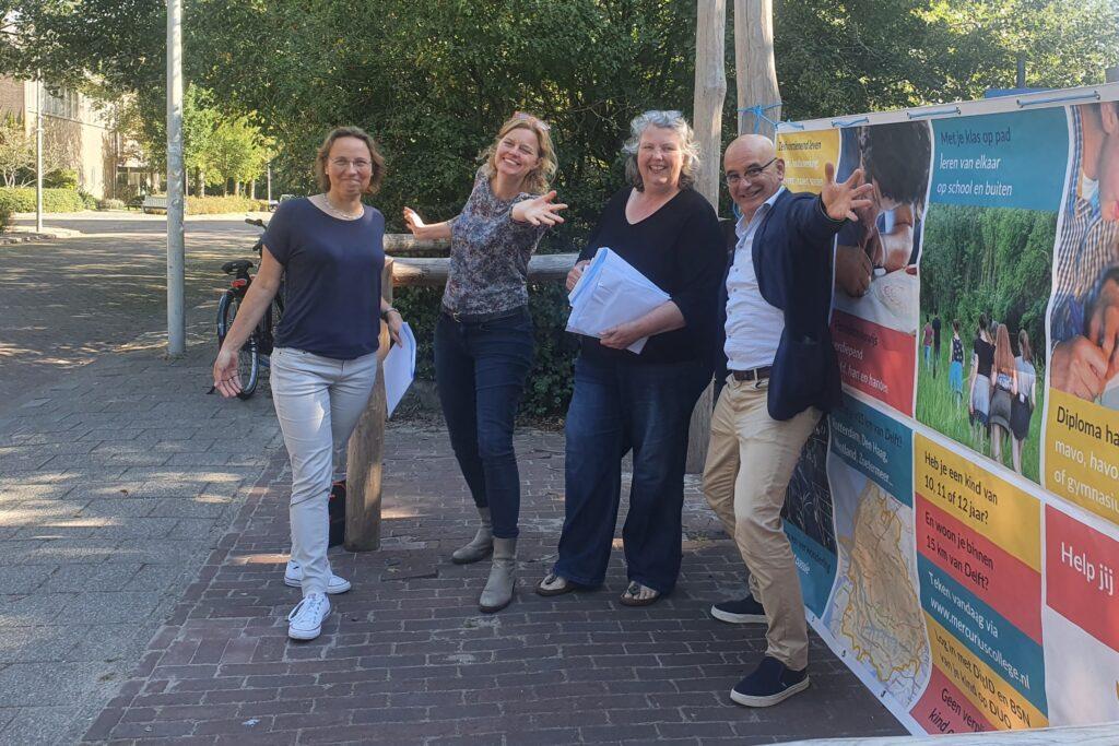 Mercurius Delft promotieteam