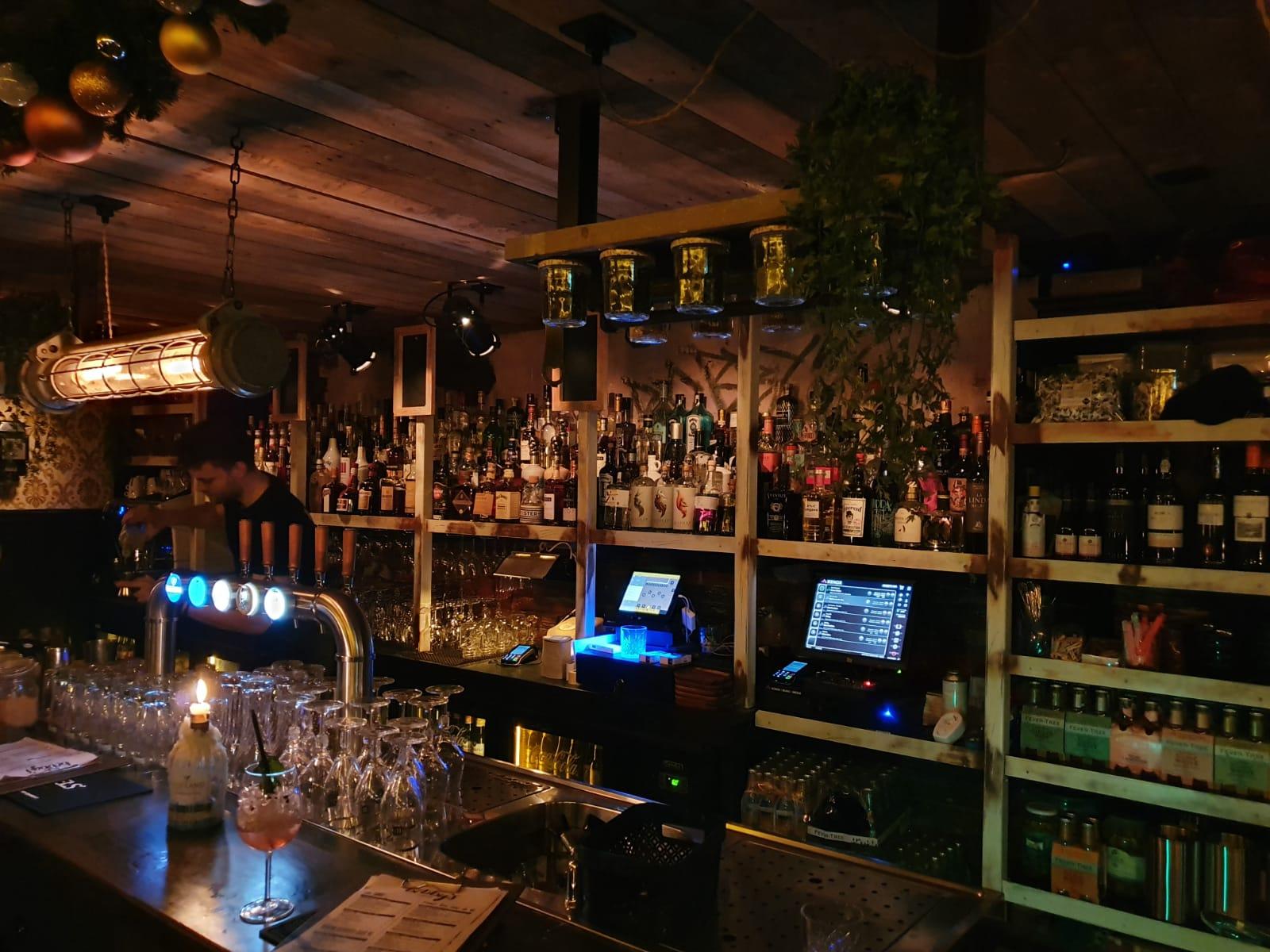 cocktailbar winkels december
