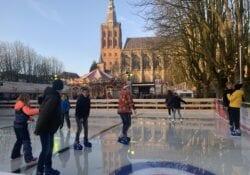Bosch' winterparadijs doen met kerst den bosch