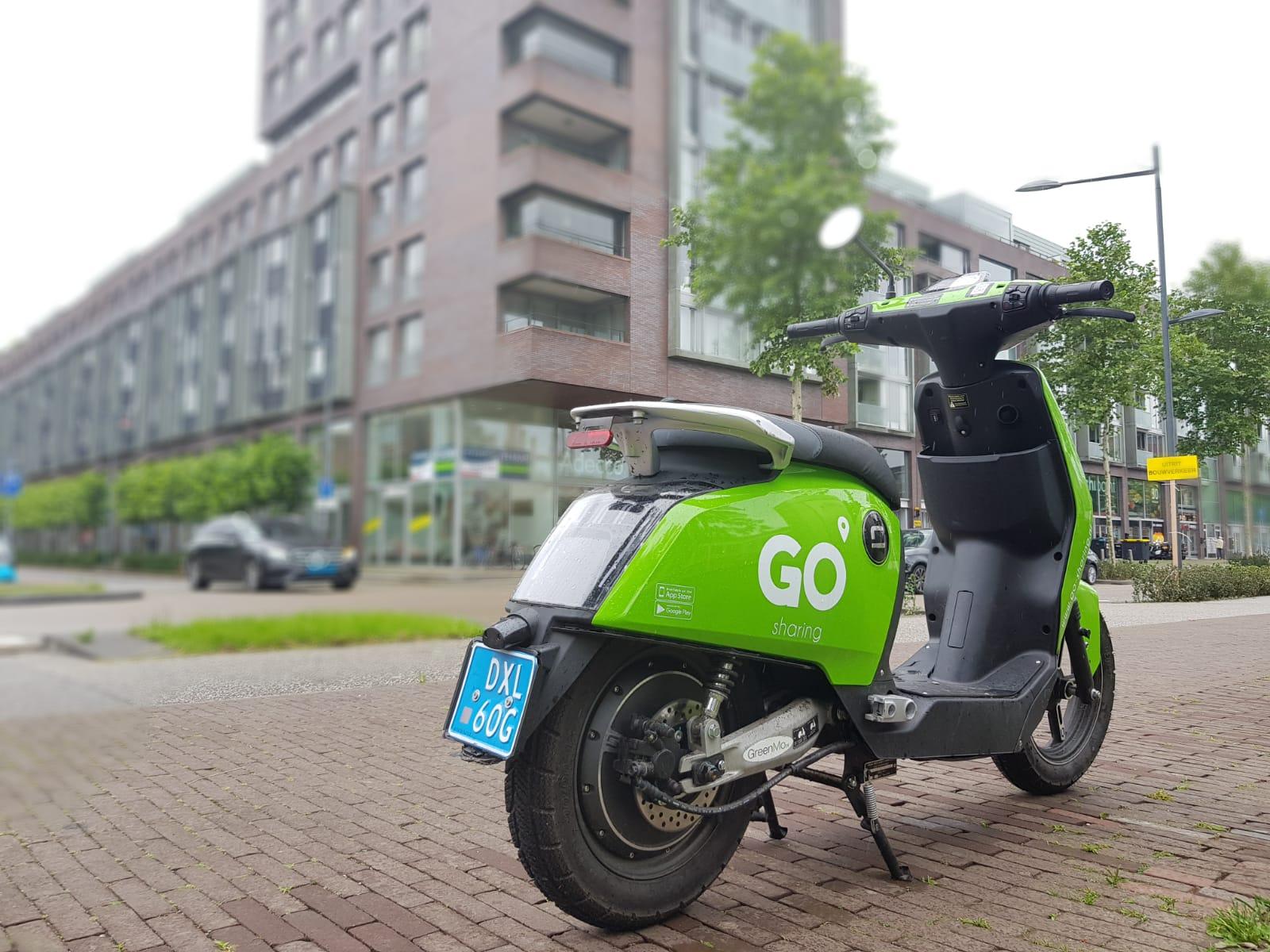 groene deelscooters