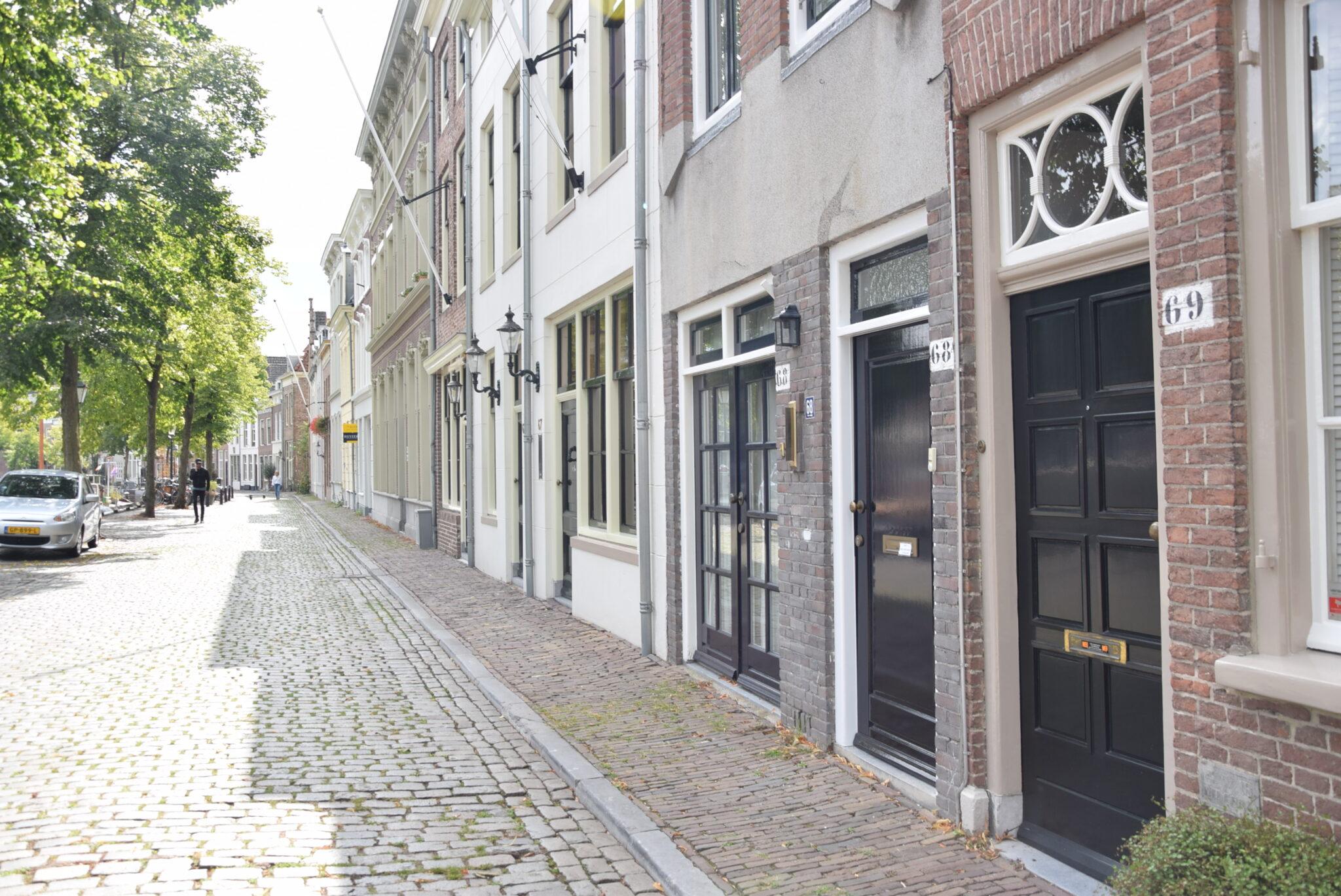 Voordeuren aan de Brede Haven Den Bosch