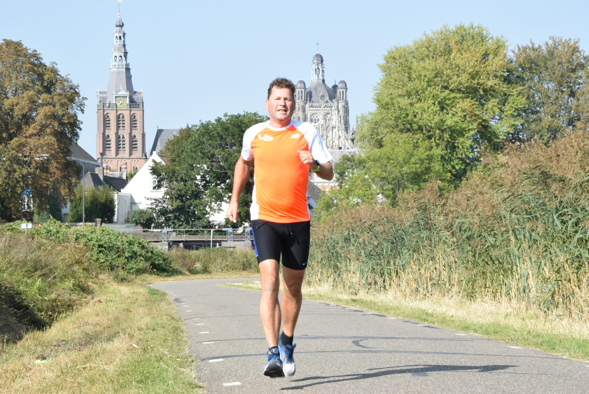 Geert loopt mee met NN Running Day