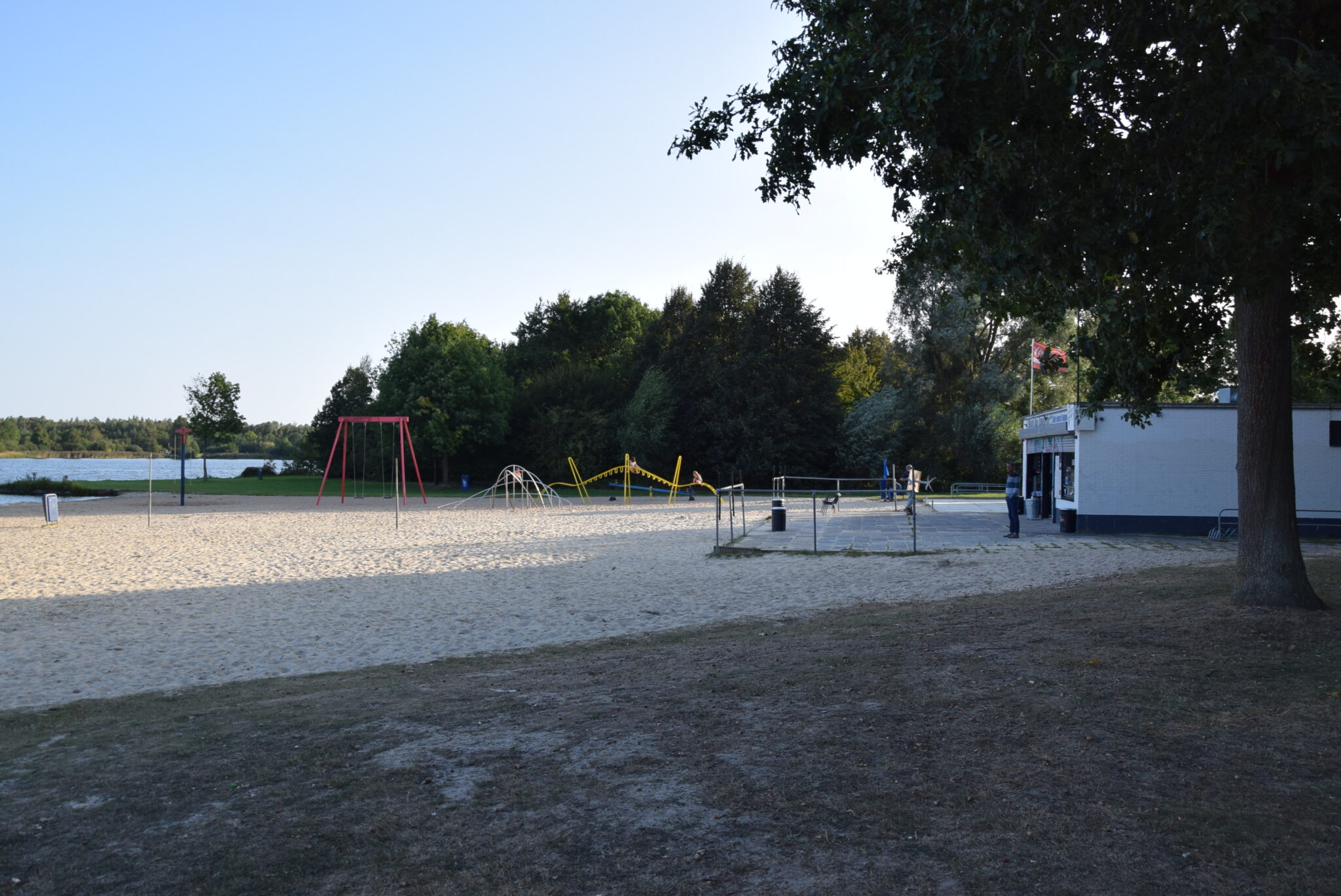 Strand van Zuiderplas in 2020