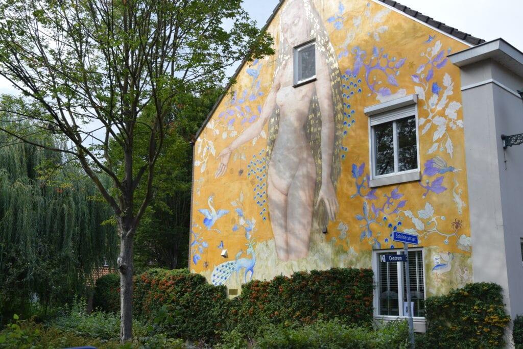 Muurschildering Schilderdstraat Den Bosch