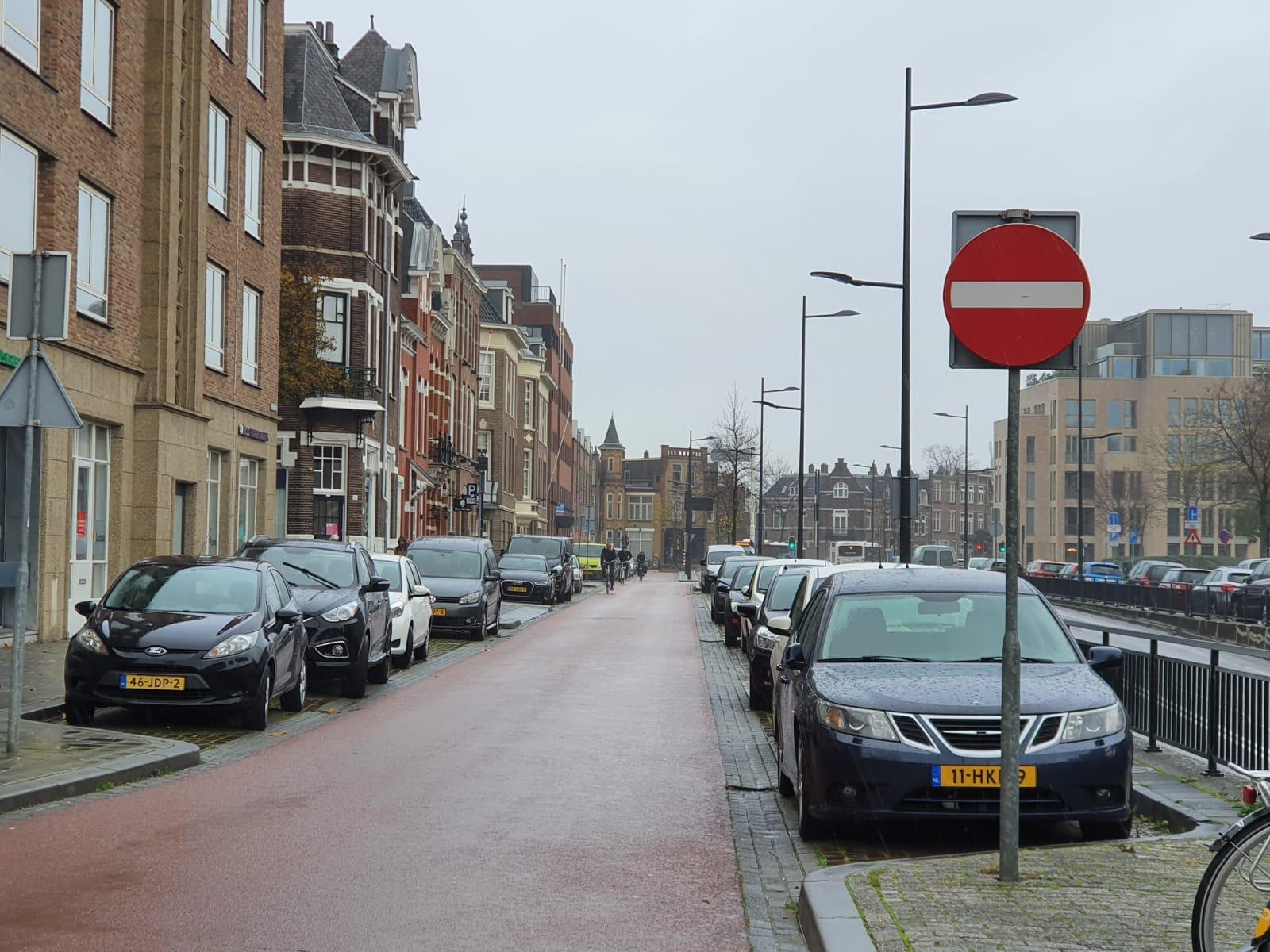inhalen Fietsstraat