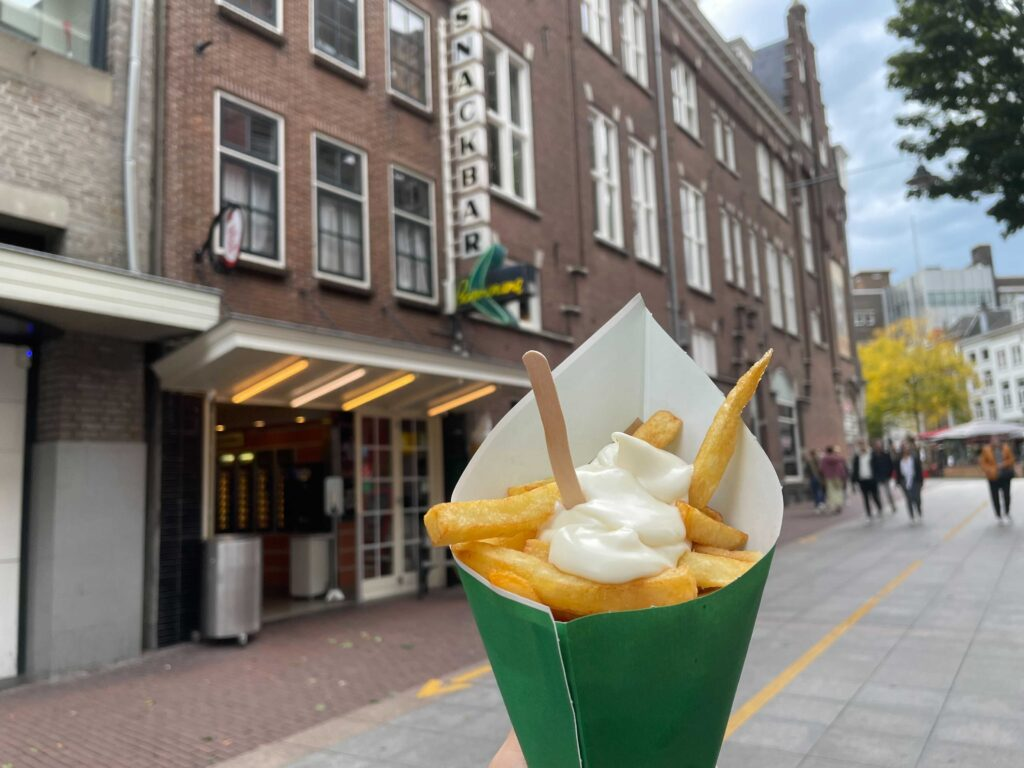 win een jaar lang gratis friet