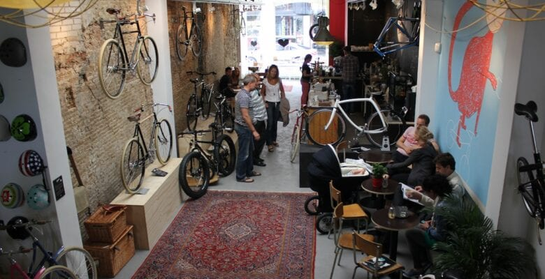 Koffie in Den Haag - Lola bikes & coffee