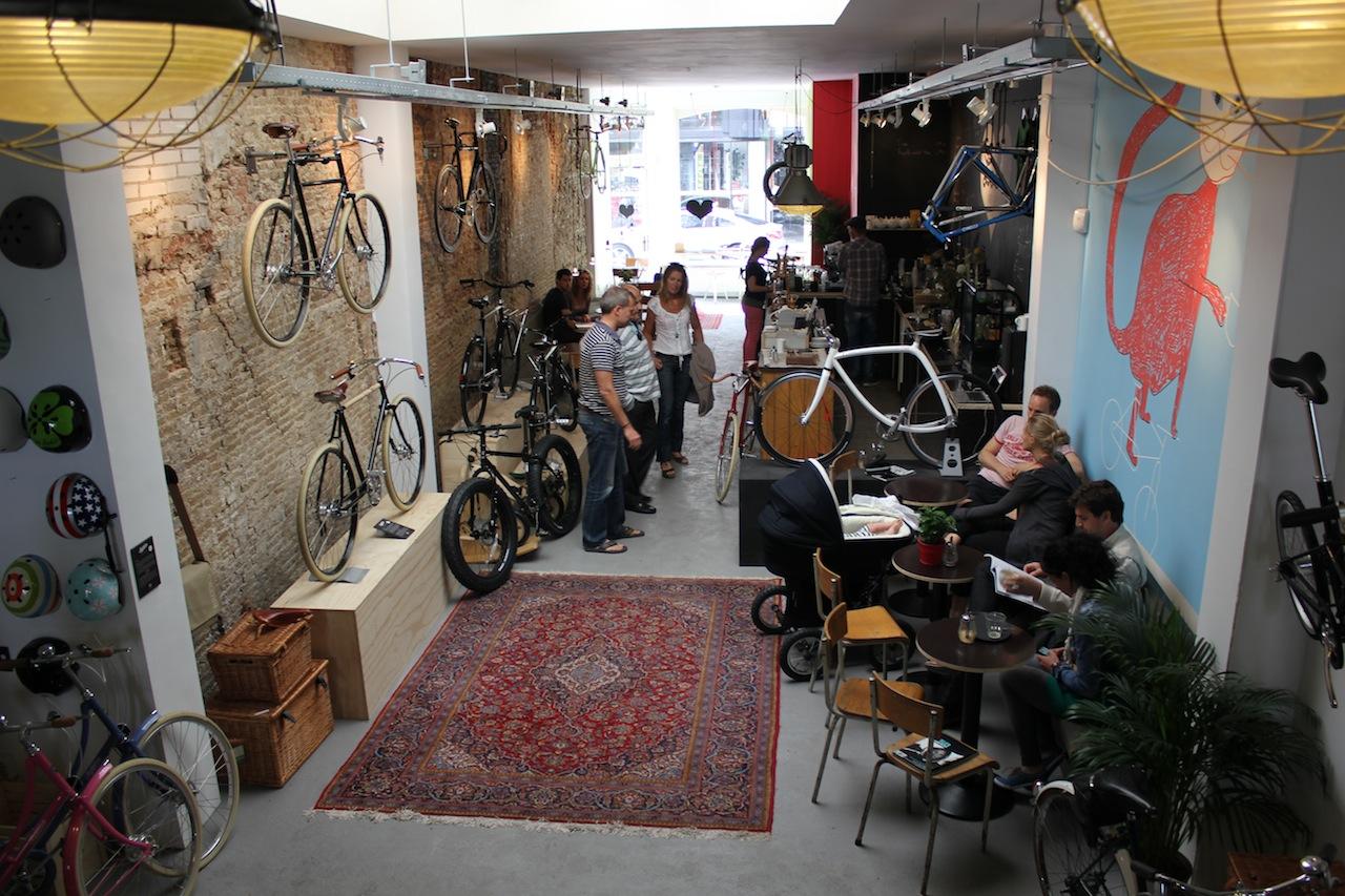 Koffie in Den Haag - Lola bikes & coffee