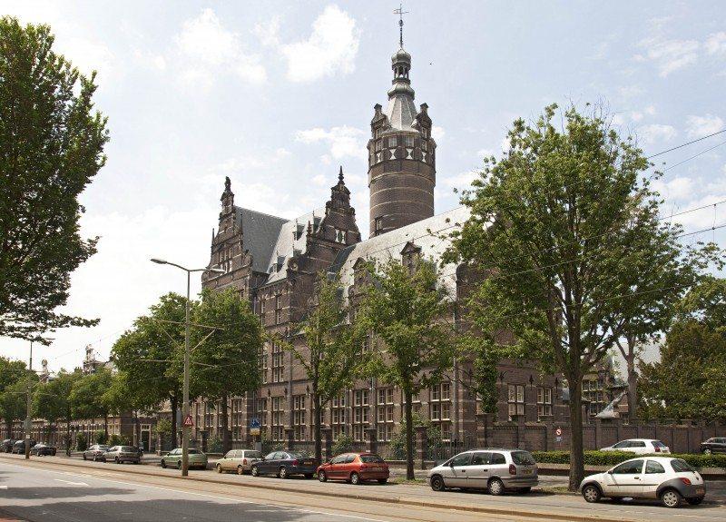 Gumnasium Haganum Foto monumentenzorg Den Haag