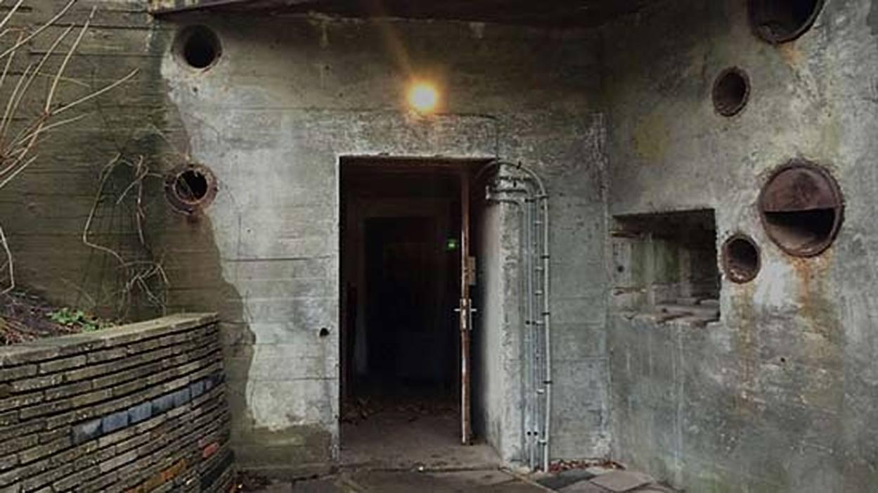 pop up cinema Den Haag bunker V192