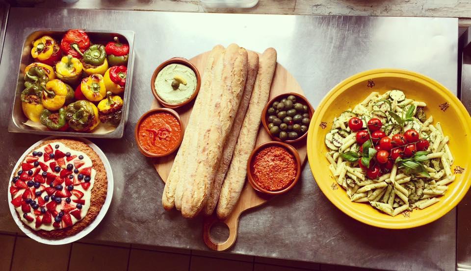 Vegetarisch eten Den Haag