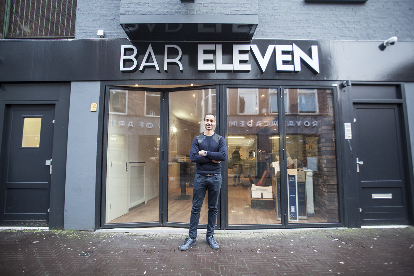 Calvin Wade Bar Eleven