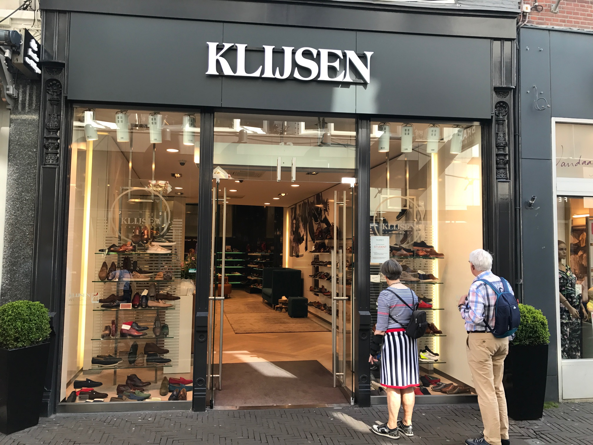 Klijsen schoenenwinkel Den Haag