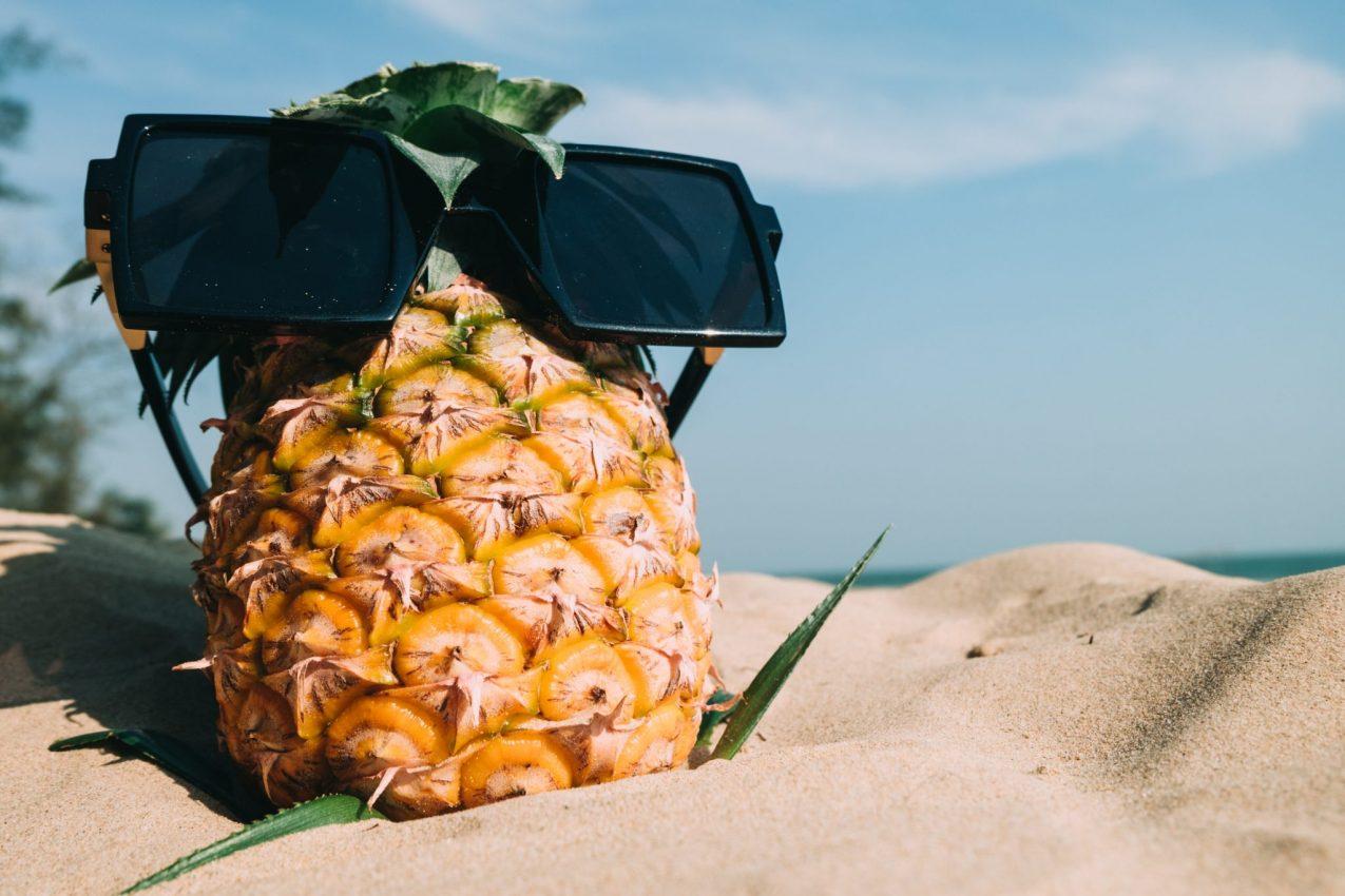 Strand ananas