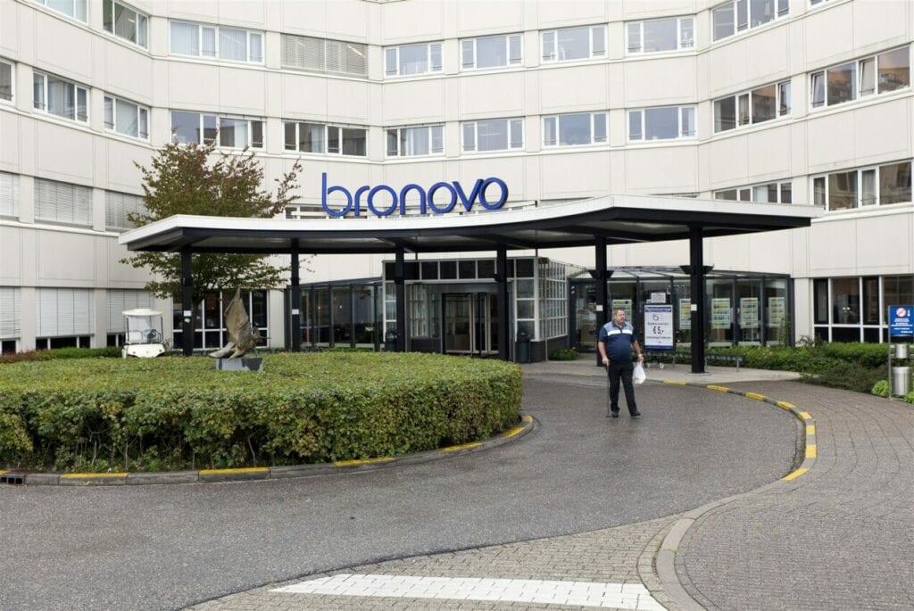 Het Bronovo ziekenhuis in Den Haag. ANP PHIL NIJHUIS