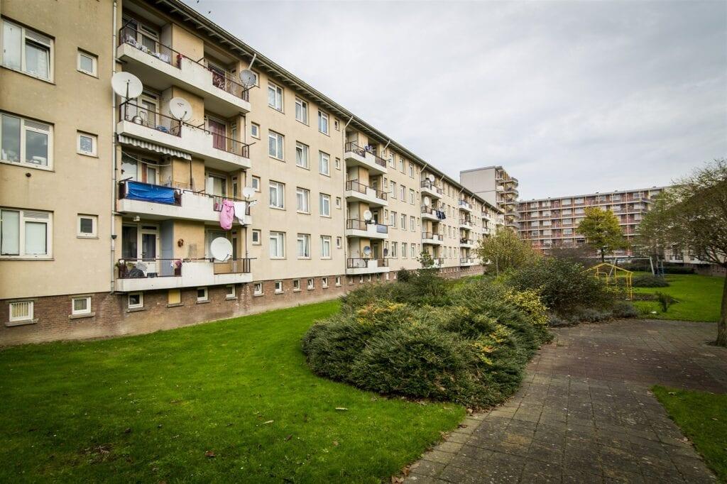 De Haagse wijk Moerwijk.. ANP VALERIE KUYPERS