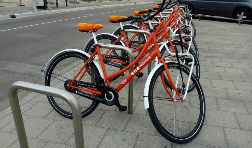 HTM fiets op Kijkduin. Foto Posthoorn