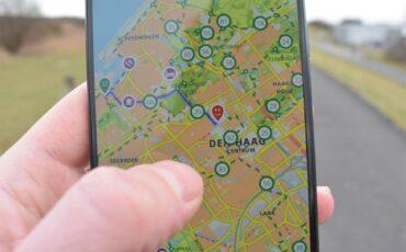 Den Haag route plannen wandelen of fietsen
