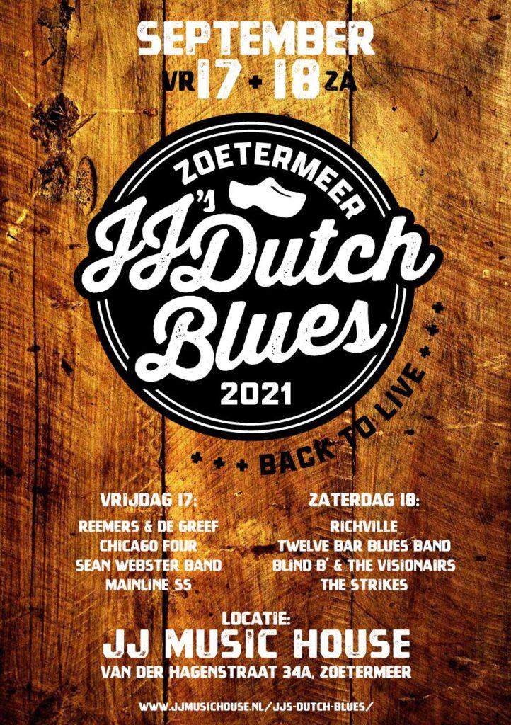 Flyer-JJs-Dutch-Blues-JJ-Music-House