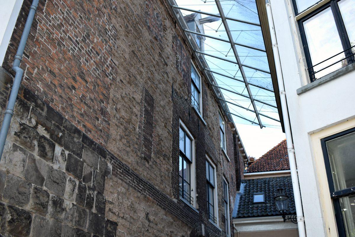 Oudste huis glas