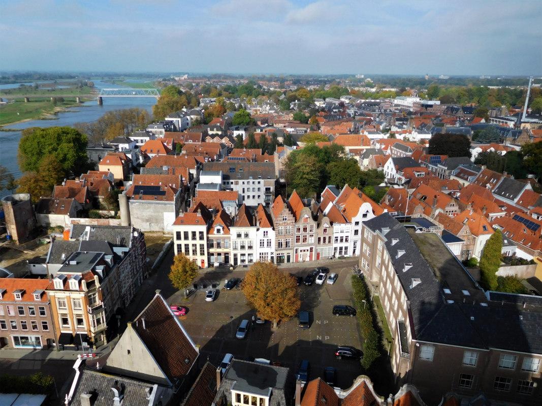 Uitzicht vanaf de Lebuinustoren