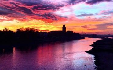 zonsopkomst deventer november
