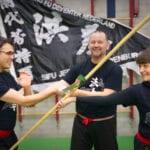 Training Kung Fu van Jeroen