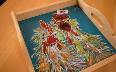 Schilderen bij de Kleurmeesters in Deventer