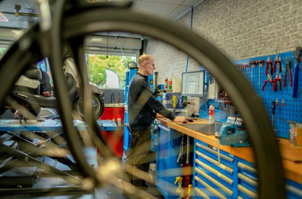Roto Tweewielers fietsreparatie