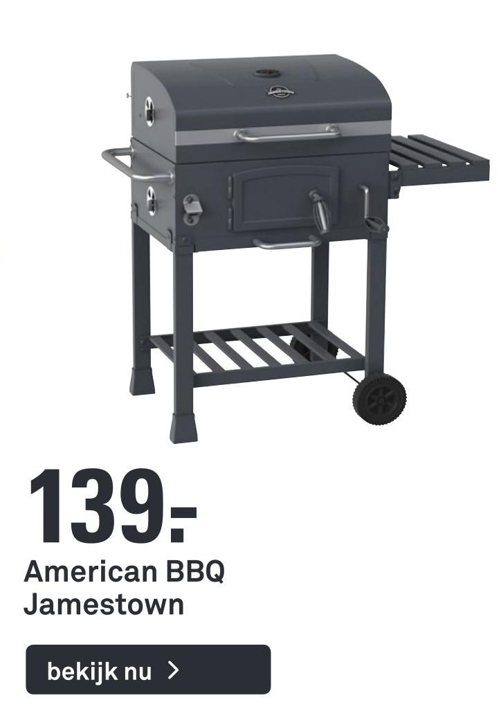 American BBQ Jamestown €139.00 indebuurt Deventer