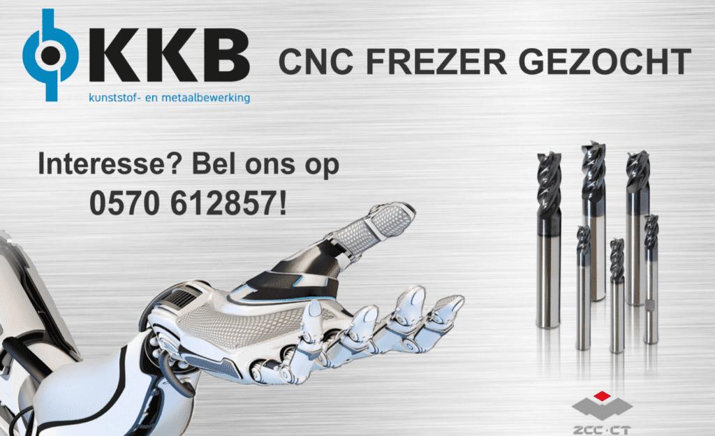 vacature CNC Frezer gezocht