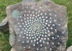 versierde stenen