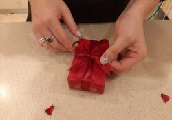 cadeaulint weggooien