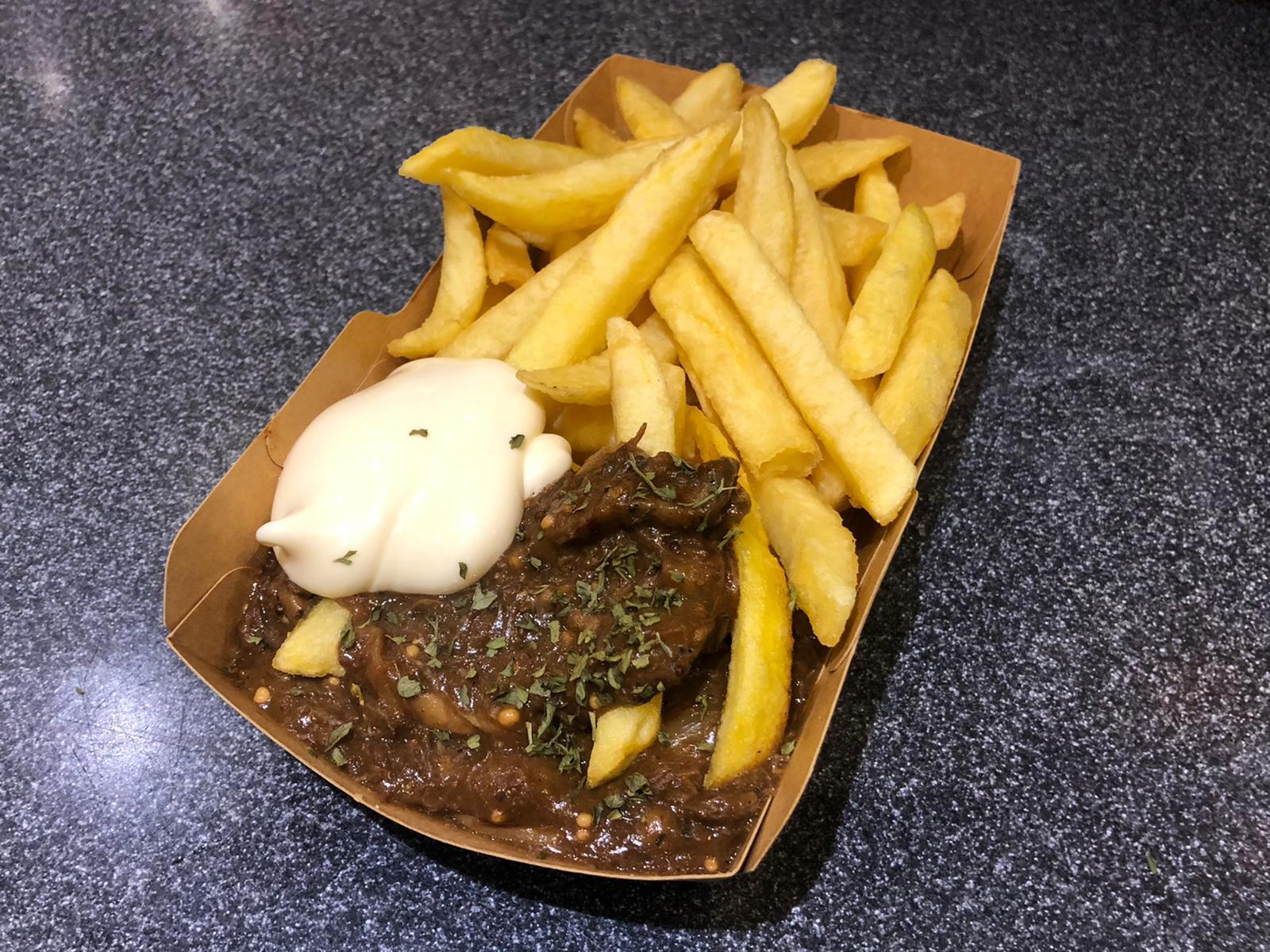 frietje Deventer stoofvlees