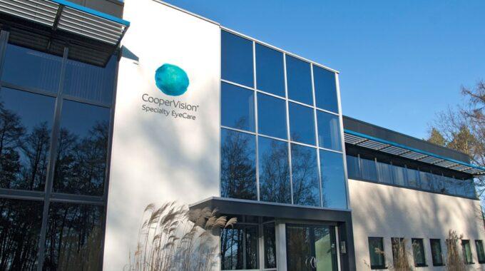 Het hoofdkantoor in Eerbeek | Foto: CooperVision SEC