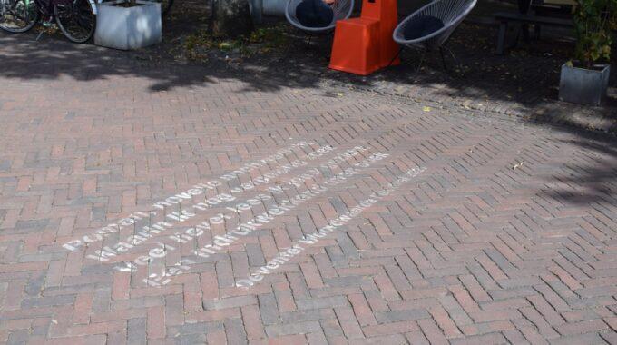 teksten straat Deventer