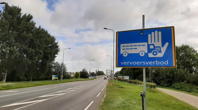 vervoersverbod