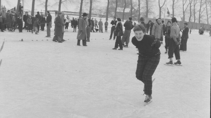 schaatswedstrijd Deventer