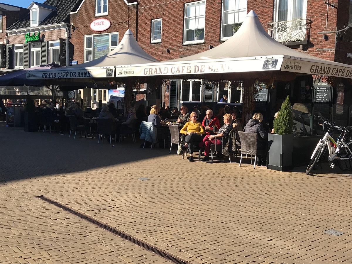 warmste februari ooit doetinchem terras zon