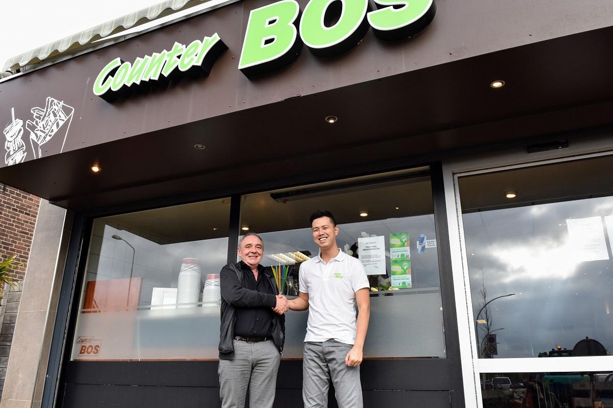 Counter Bos Bertie Bos en Kevin Li